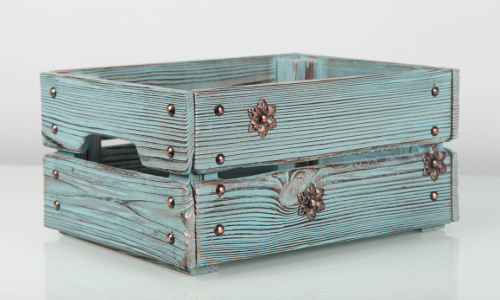 Decorative box #F